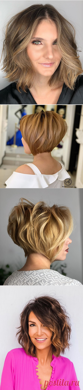 Текстурный боб для женщин 40-50 лет: 17 способов добиться идеального объема   Новости моды