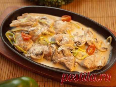 СВИНИНА С ОВОЩАМИ, ТУШЕНАЯ В СЛИВКАХ | Самые вкусные кулинарные рецепты