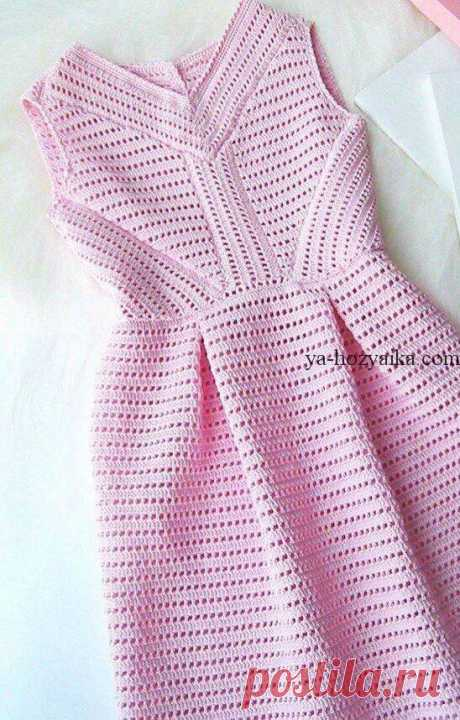 Филейное платье Элегия. Мастер-класс