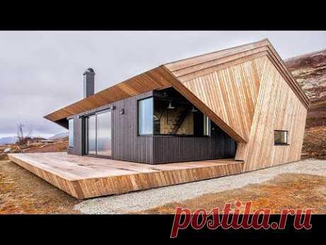 5 удивительных роскошных крошечных домиков   Лучшие идеи для хранения в крошечных домах
