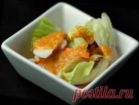 Вкуснейший салат с имбирем - My izumrud