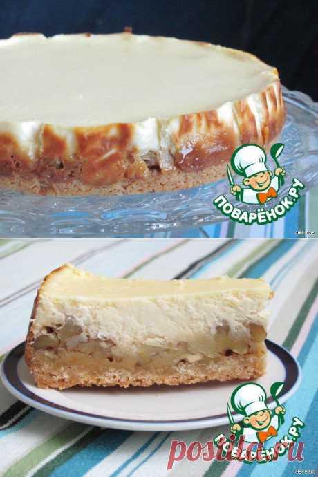 Творожный торт с карамелью и орехами. Автор: dolphy