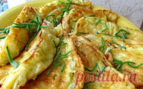 Чудесные капустные конвертики с сыром