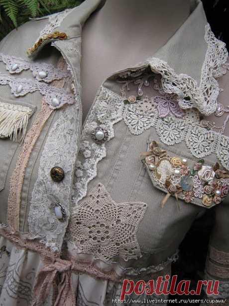 Одежда в стиле бохо...Отовсюду понемногу...детали.