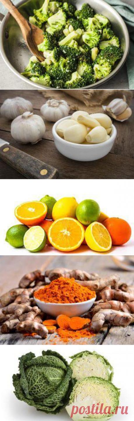 8 продуктов, которые помогут очистить печень | Интернет-Cолянка
