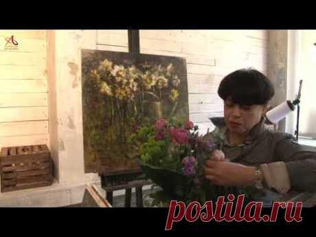 Видео урок живописи Голландское многоцветие