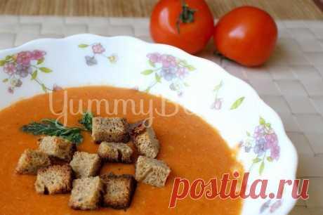 Томатный суп-пюре с фасолью и рисом, рецепт с фото пошагово | Первые блюда Томатный суп-пюре с фасолью и рисом - как приготовить быстро, просто и вкусно в домашних условиях. Пошаговый рецепт с фотографиями, подробным описанием и ингредиентами.