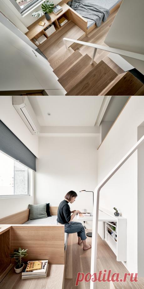 A Little Design (Тайвань). Смарт-квартира 17 квадратных метров