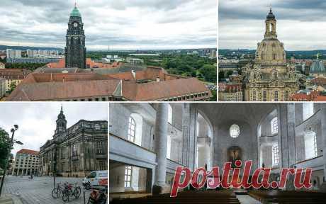 Церковь Креста в Дрездене.Германия.