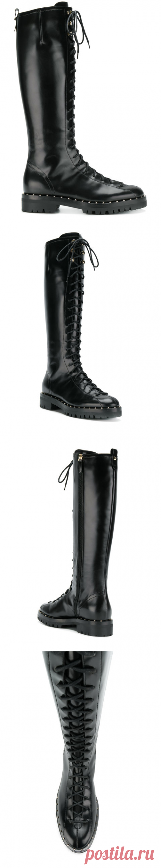Valentino Valentino Garavani Soul Rockstud Boots - Farfetch