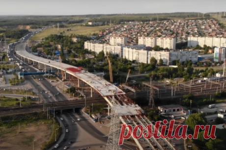 Строительство трехуровневой развязки на трассе М-5 в Тольятти 19 июня 2020 года | 63.ru - новости Самары