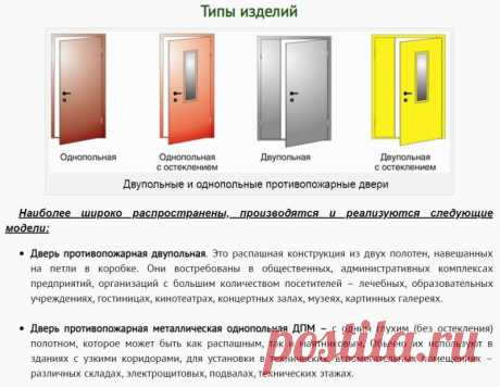 Противопожарные металлические двери - надежная преграда на пути огня #ПротивопожарныеДвери