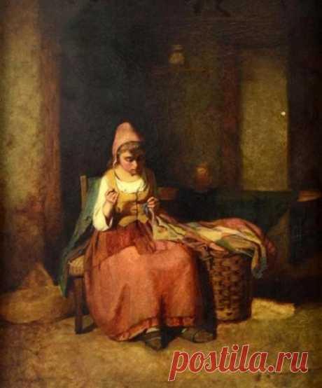 Художники Roberts...Отец Thomas Edward Roberts (British, 1820–1901)