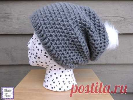 Episode 185: How To Crochet the Cottontail Slouch