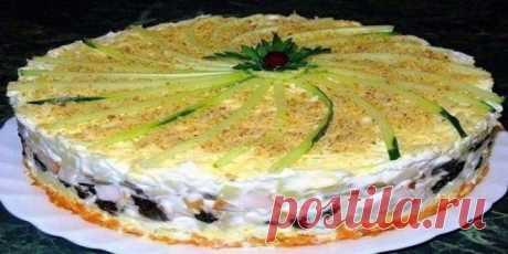 Салат торт № 1 в мире! Салат, который займет главное место на праздничном