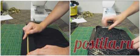 Хорошая идея куда применить вещи, которые вы не носите. | diy-idea | Яндекс Дзен