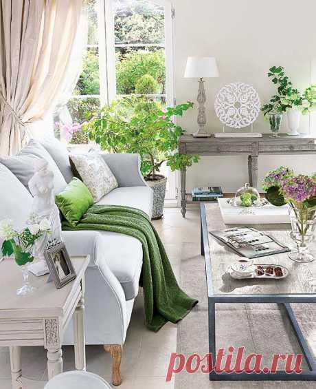 Очень уютный интерьер польского дома в стиле прованс