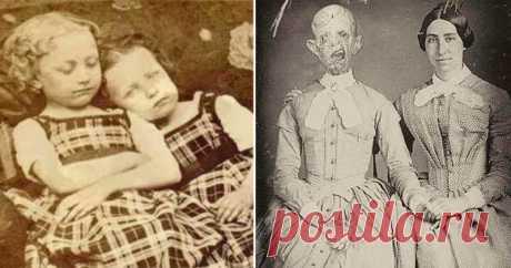 15 посмертных фотографий викторианской эпохи: настоящие или нет? (18 фото)   Чёрт побери В интернете полно фальшивых новостей и поддельных фотографий - такой уж он, сетевой мир. Здесь любят выдергивать картинки из контекста и сочинять про них абсолютную чушь. Особенно очевидно это в случае со старыми снимками пост-мортем - совершенно обычной для викторианских времен традиции делать памятные снимки умерших людей, особенно детей. Однако не все старые фотографии, на которых л...