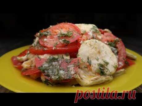 Нереальная вкуснятина из кабачков. Не просто вкусно, а очень вкусно! Кабачки с помидорками.