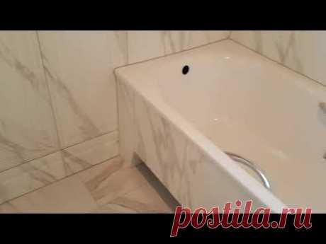 Красивая ванная комната . Керамогранит Керамо Марацци.