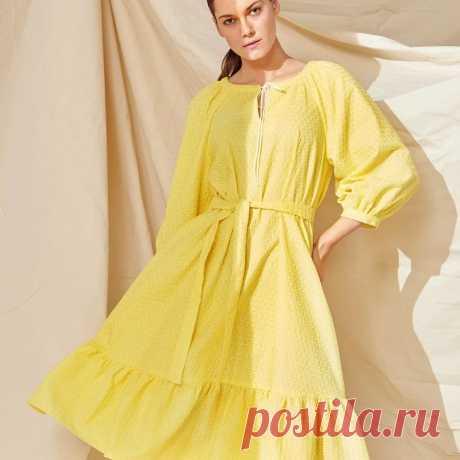 Летние платья: 25 простых выкроек — BurdaStyle.ru