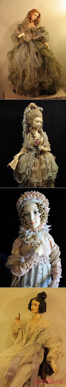 Блоги@Mail.Ru: Деревянные куклы Юлии Сочилиной