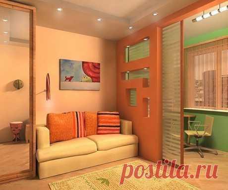 18 идей дизайна для маленьких квартир | Интерьер и Дизайн