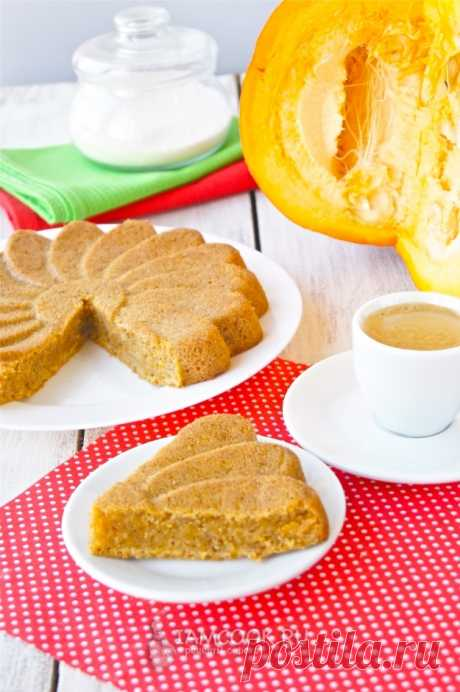 Тыквенный пирог с корицей — рецепт с фото и видео на Русском, шаг за шагом. Легкий пирог из тыквы с корицей к чаепитию. #рецепт #пирог #выпечка #тыква #кчаю #чаепитие