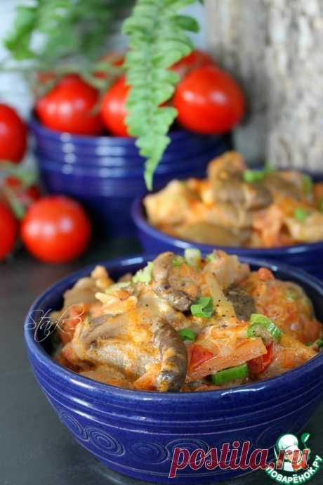 Тушёные вешенки – кулинарный рецепт