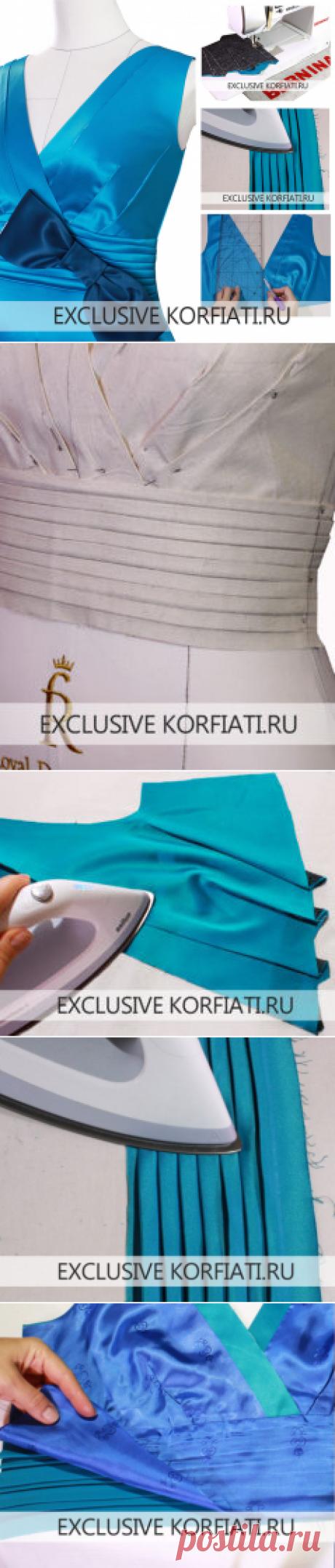 Мастер-класс по пошиву платья от Анастасии Корфиати