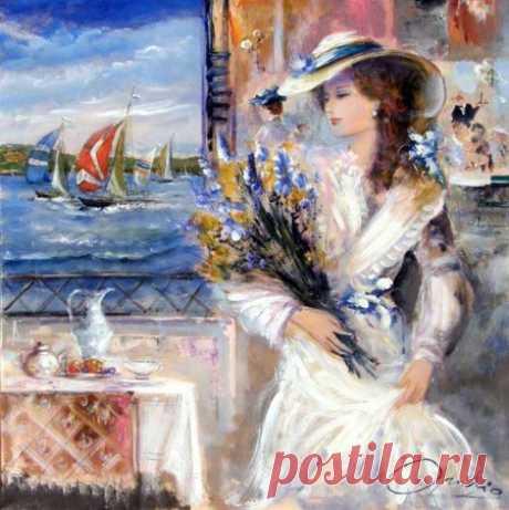 Итальянская художница Lovilla Chantal
