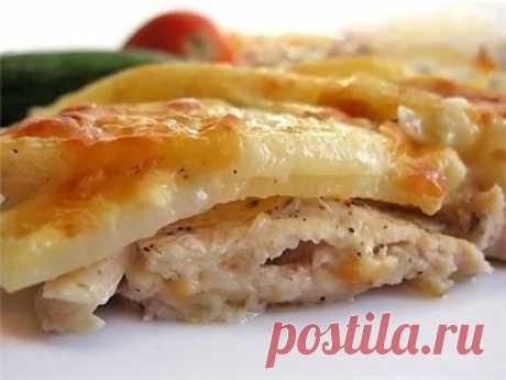 Как приготовить картошка по-царски - рецепт, ингредиенты и фотографии