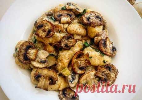 Гноччи - итальянские ленивые вареники из картошки - пошаговый рецепт с фото. Автор рецепта Ксения Тычкова🏃♂️ . - Cookpad