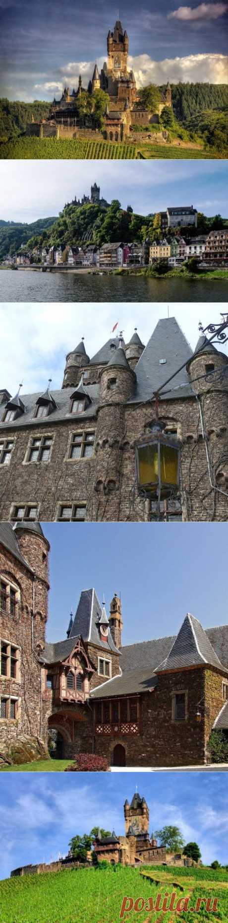 (+1) тема - Тысячелетняя имперская крепость: великолепный замок Райхсбург в Кохеме | Среда обитания