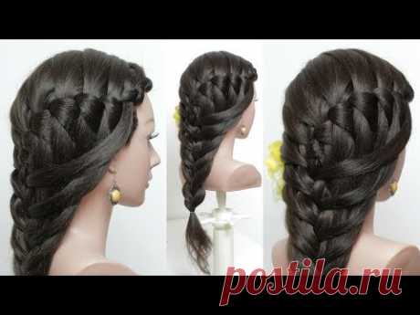 Easy  hairstyles for long hair tutorial.