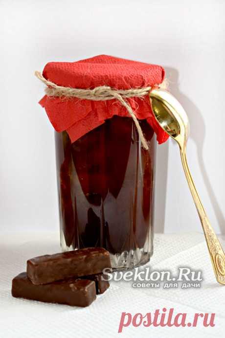 """Варенье """"Слива в шоколаде"""" с какао: рецепт с фото Вкусное варенье """"Слива в шоколаде"""" с какао - необычная заготовка на зиму, которая порадует всю семью. Рецепт приготовления пошагово с фото."""
