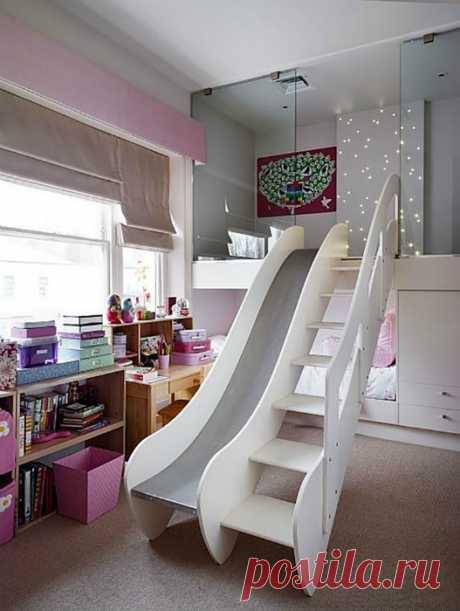 Фантастические идеи дизайна детской
