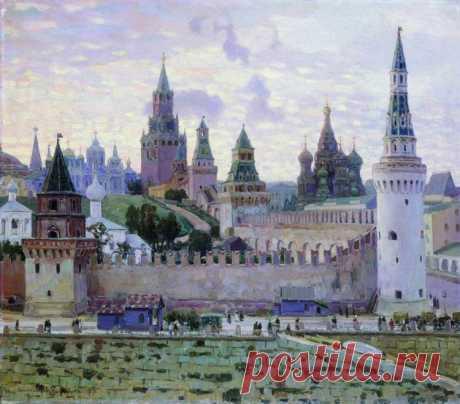 Художник Аполлинарий Васнецов (1856 — 1933). Преданья старины седой
