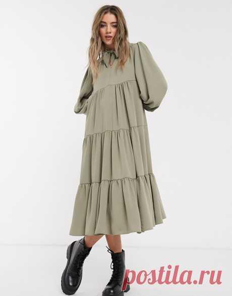 Носим сейчас и забираем в осень: 28 прекрасных ярусных платьев