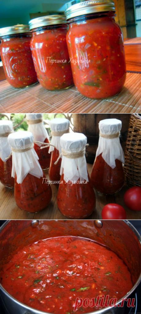 Рецепты итальянского томатного соуса с базиликом - Заготовки от Перчинки - Perchinka Hozyayushka.ru