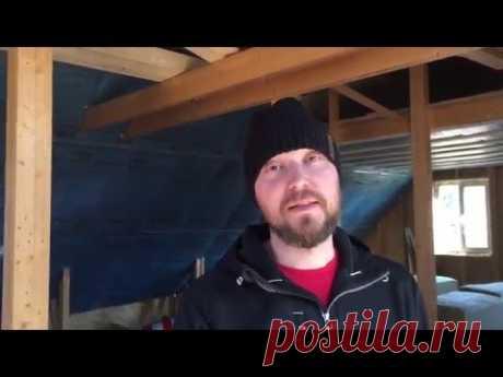 Как утеплить мансарду мин ватой? Видео с реального объекта с пояснениями.