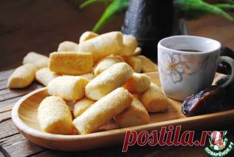 Печенье на растительном масле Кулинарный рецепт