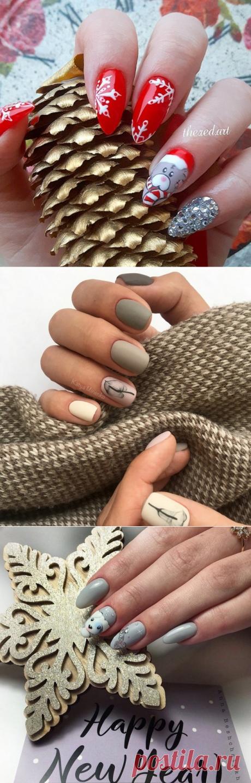 Топовые новинки маникюра зима 2018-2019: модный зимний дизайн ногтей, фото, идеи