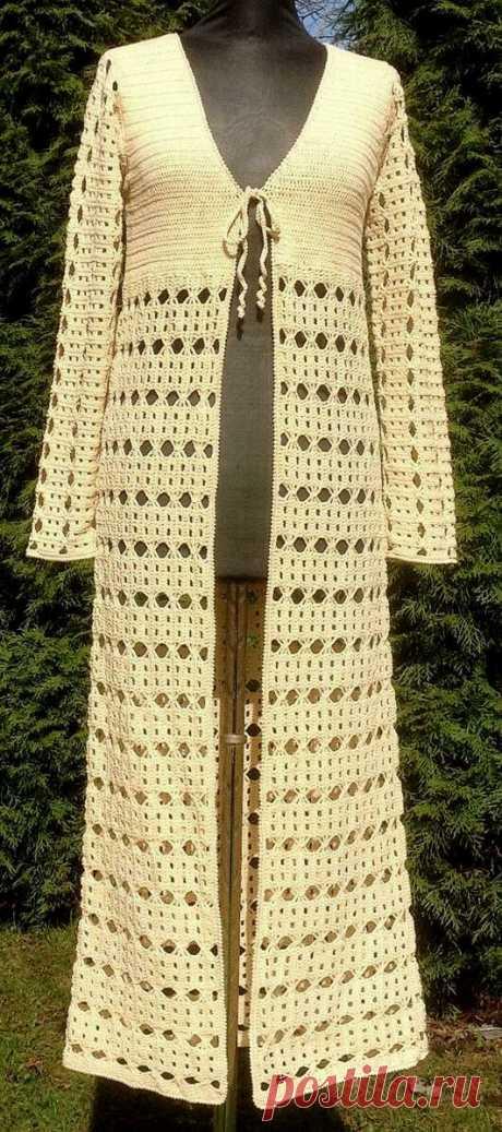 Летние жилеты, шазюбли и пальто, связанные крючком | Левреткоман-оч.умелец | Яндекс Дзен
