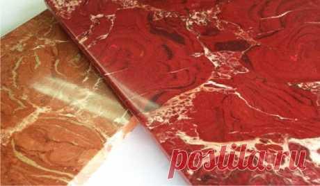 Глянцевый мрамор из обычного гипса: самодельные плитки для отделки | Ремонтдом | Яндекс Дзен