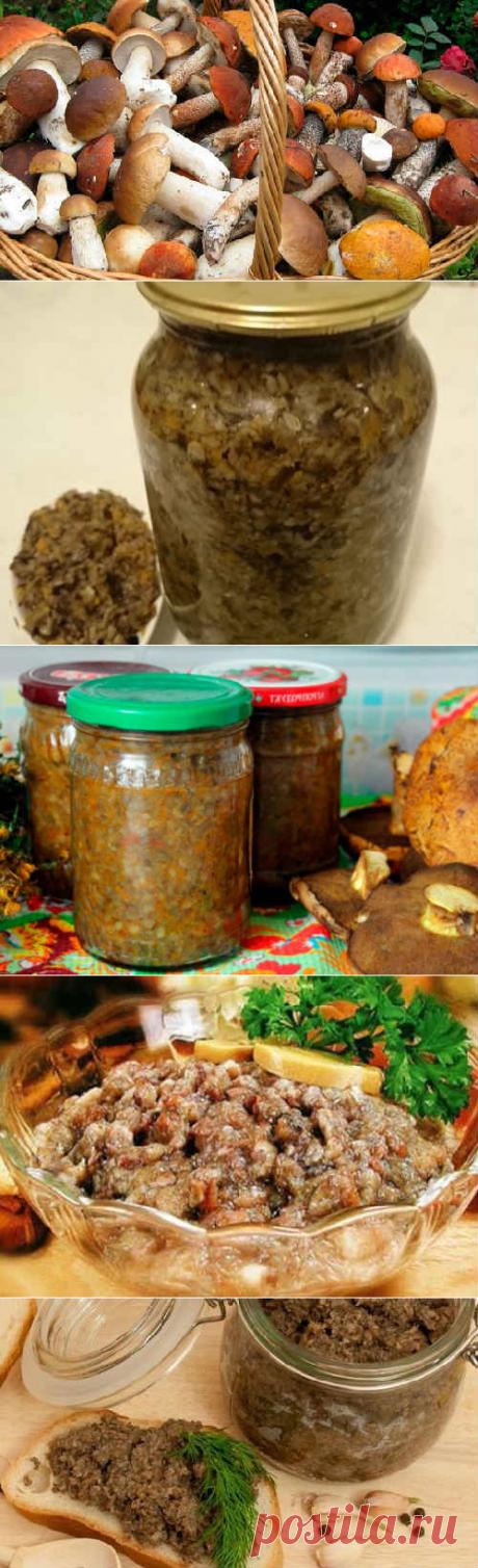 Грибная икра на зиму: рецепты приготовления с фото, видео
