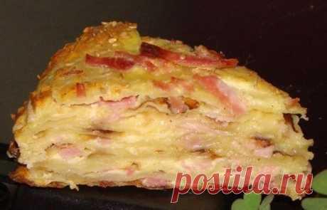 Кулинария >Любимый сырный пирог моего мужа!