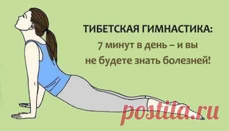 Утренняя гимнастика Тибетских лам занимает не больше 7-ми минут, но даёт колоссальный эффект!  1. Проснувшись, пять минут полежите с закрытыми глазами. Затем разотрите руки, пока они не станут горячими. Затем помассируйте уши (ухо – пульт управления всем организмом): указательный, большой и средний палец надо взять в горсть и растереть ухо сверху вниз 30 раз (большой палец при этом находится за ухом).   2. Правую ладонь положите на лоб (на лини бровей), накройте левой ладо...