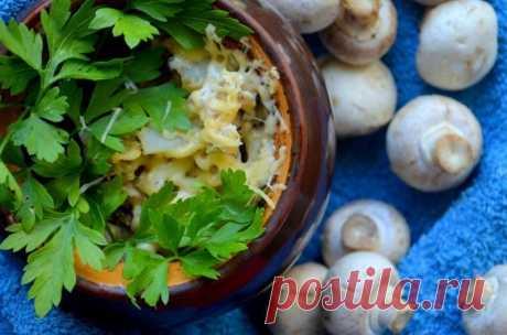 Жаркое с шампиньонами в горшочке — Sloosh – кулинарные рецепты