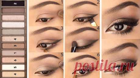 Уроки макияжа: 9 стильных идей. Модные тенденции - 2021 Смотрите новые уроки макияжа по шагам ...